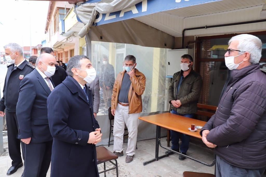 Vali Atay Beyköy'de Ziyaretlerde Bulundu