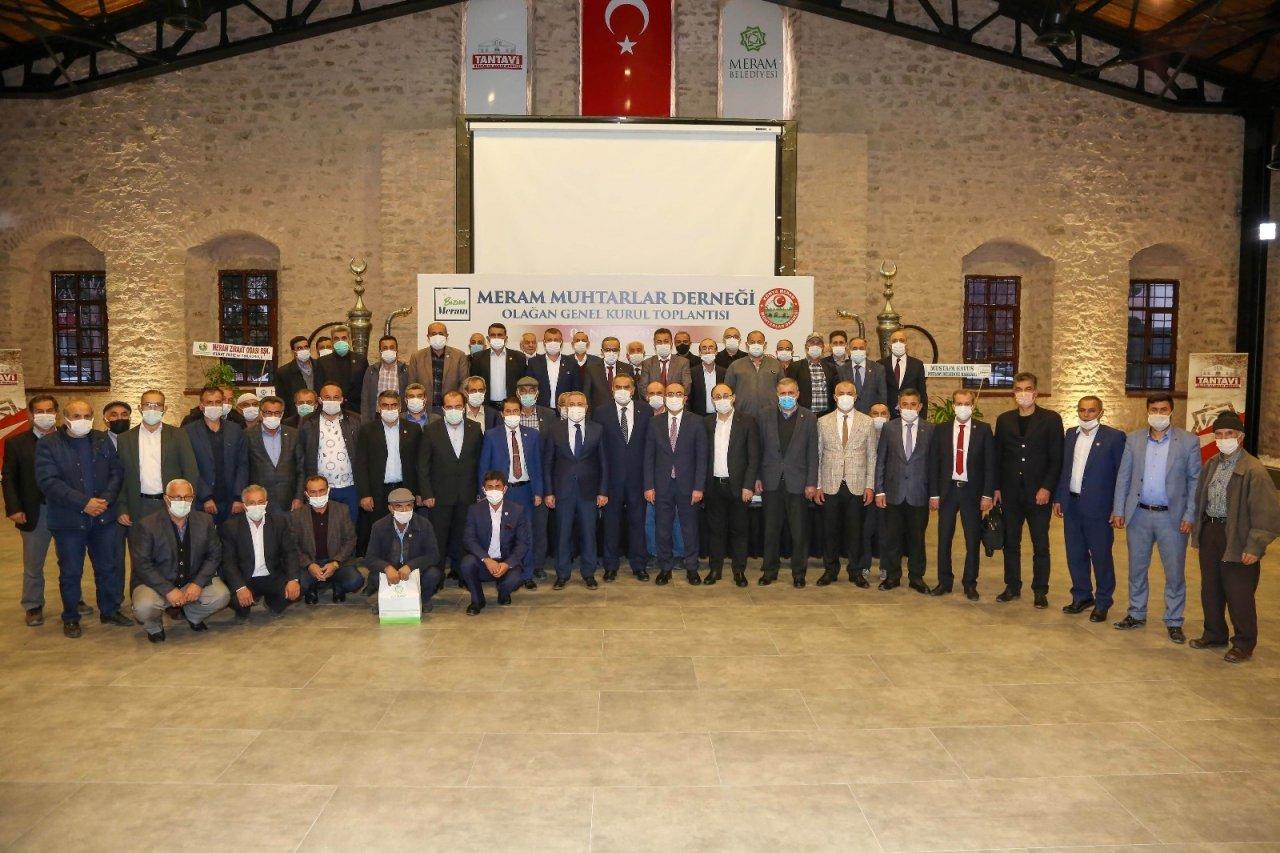 """Mustafa Kavuş, """"muhtarlarımızla Kenetlenmiş Büyük Bir Aileyiz"""""""