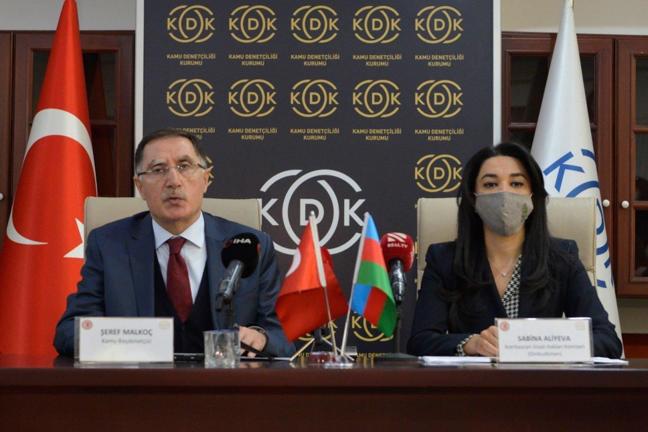 Azerbaycan İ̇nsan Hakları Komiserinden Kdk'ya Ziyaret