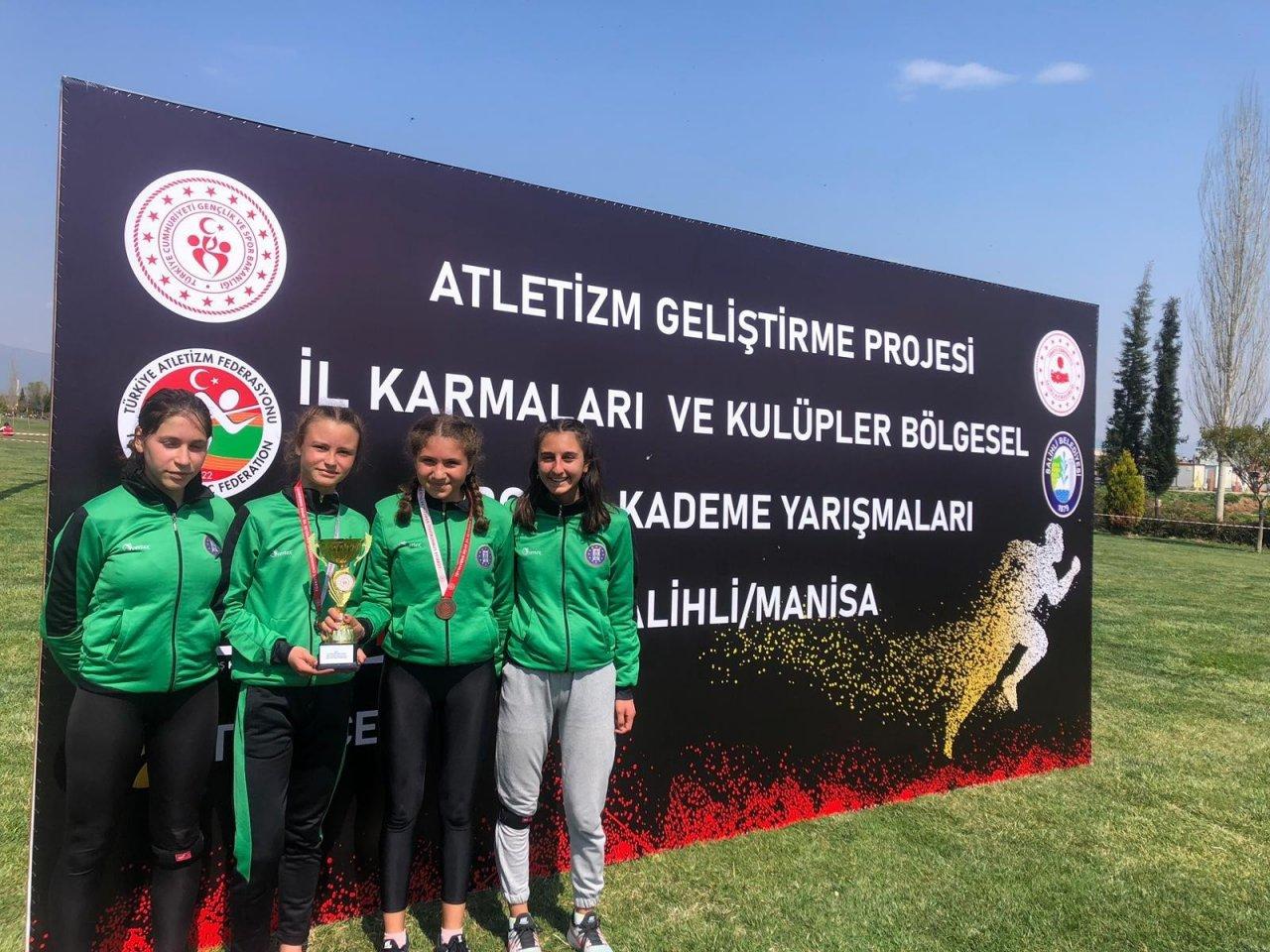 Kütahya Belediyespor'un Atletizm Başarısı