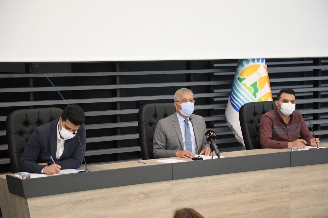 Mezitli Belediyesi Nisan Ayı Meclis Toplantısı