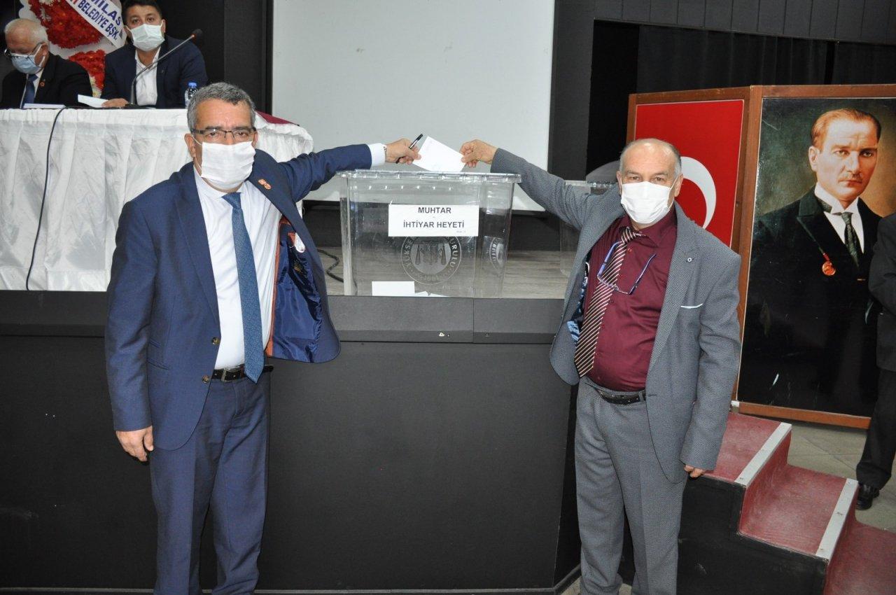 Milas'ta Mahalle Muhtarlığı Derneği'nin Seçimi Yapıldı