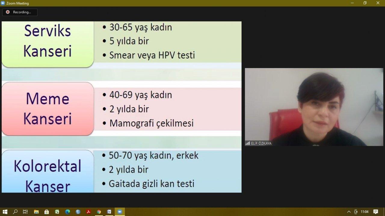 """Dr. Özkaya: """"meme Kanseri Riskine Karşı Kadınlar Her Ay Muayene Olmalı"""""""