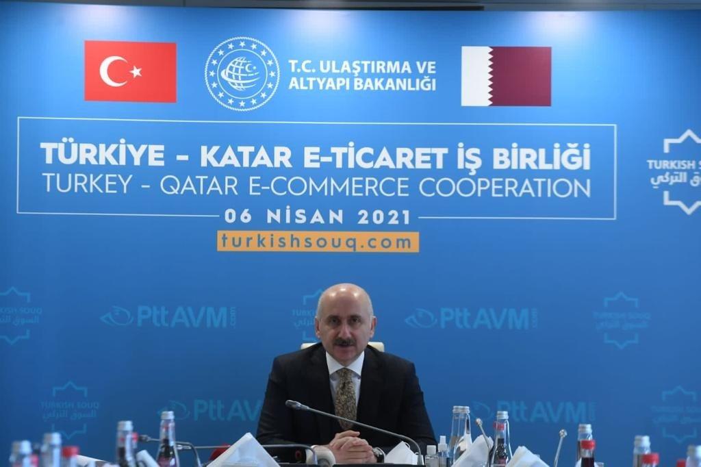 """Bakan Karaismailoğlu: """"'turkishsouq.com' Platformu Üzerinden 47 Farklı Ülkeye Ürün İhraç Edilir Hale Gelinmiştir"""""""
