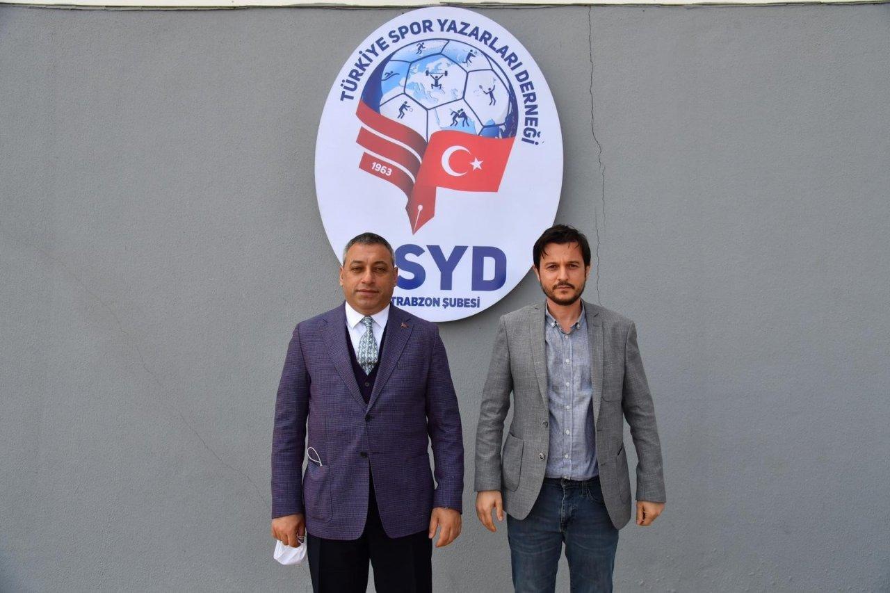 Ak Parti Ortahisar İ̇lçe Başkanı Çebi, Tsyd Trabzon Şubesi'ni Ziyaret Etti