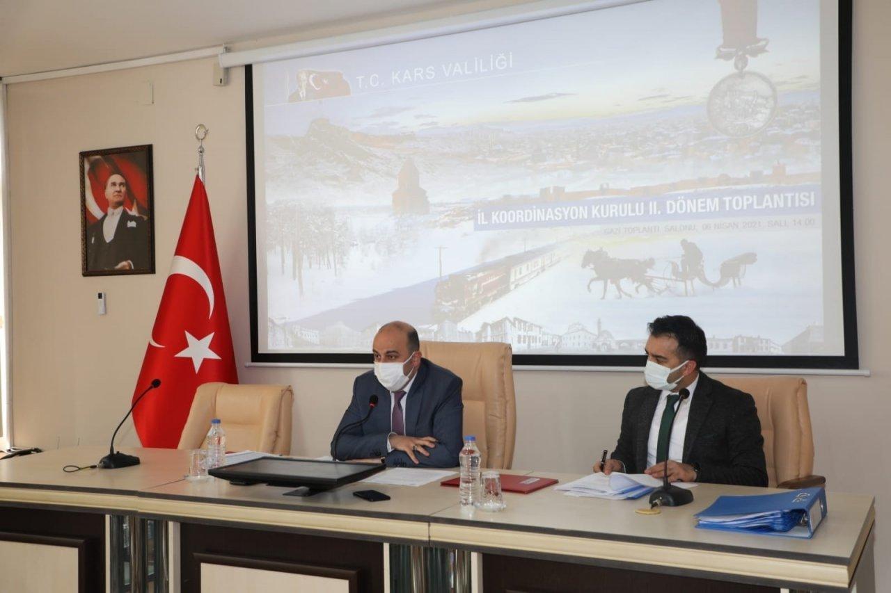 Kars'ta İ̇l Koordinasyon Kurulu Toplantısı Yapıldı