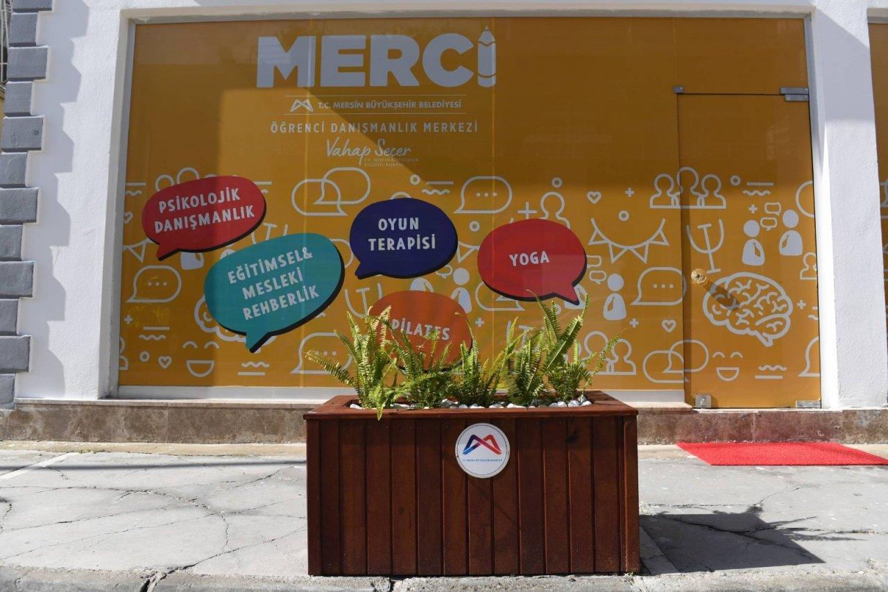 'merci Öğrenci Danışma Merkezi' Hizmet Vermeye Başladı