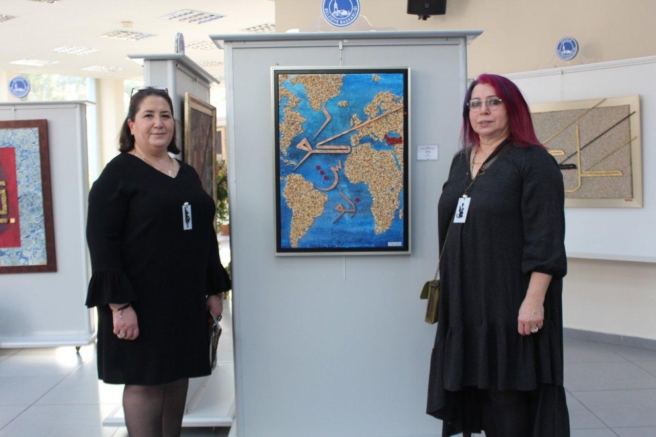 """""""farklı Bakış"""" Hat Sergisi, Üsküdar'da Sanatseverlere Kapılarını Açtı"""