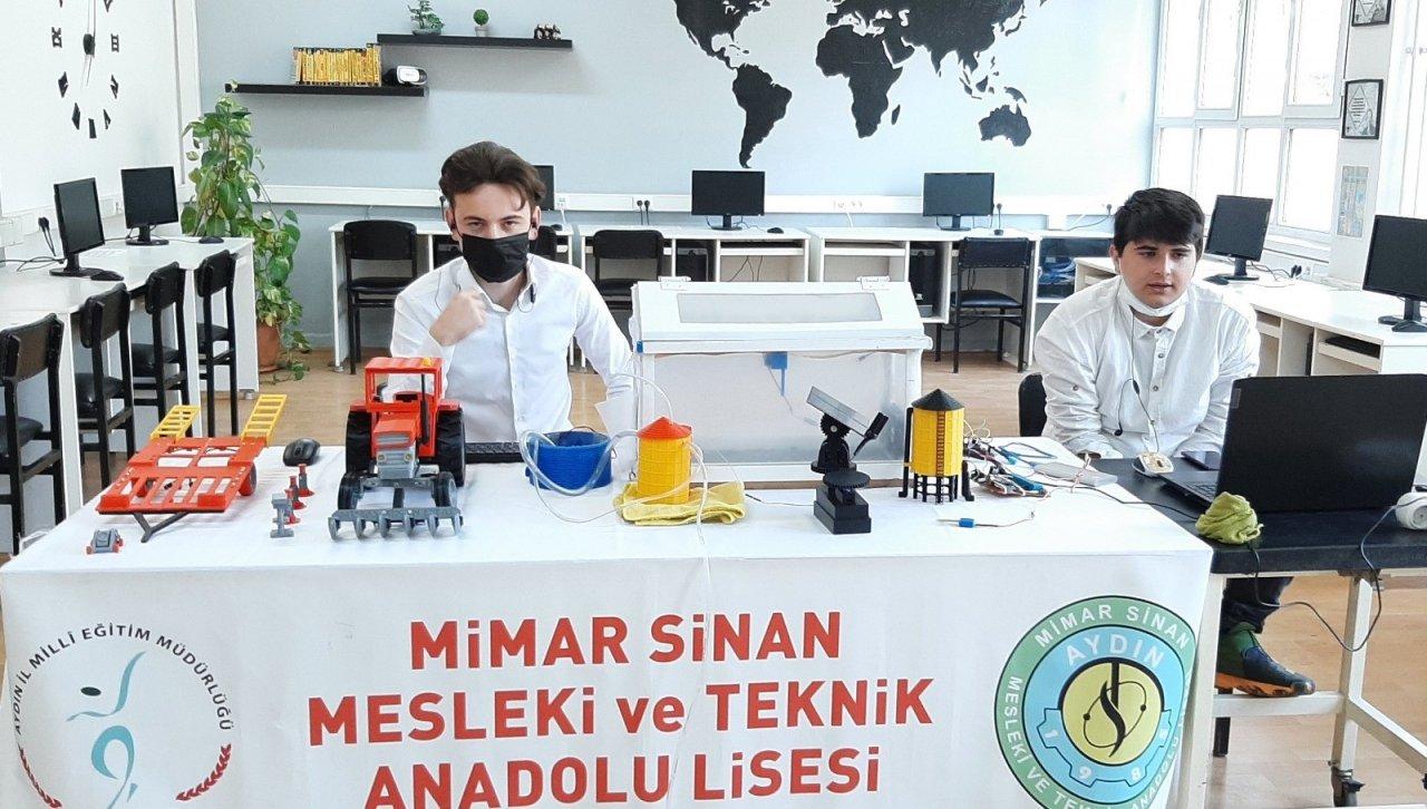 Otonom Kontrollü Çiftlik Projesi Türkiye Finallerine Katılacak
