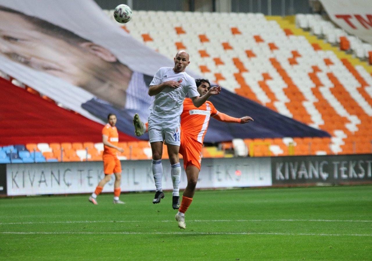 Tff 1.lig: Adanaspor: 1 - Ankaraspor: 2