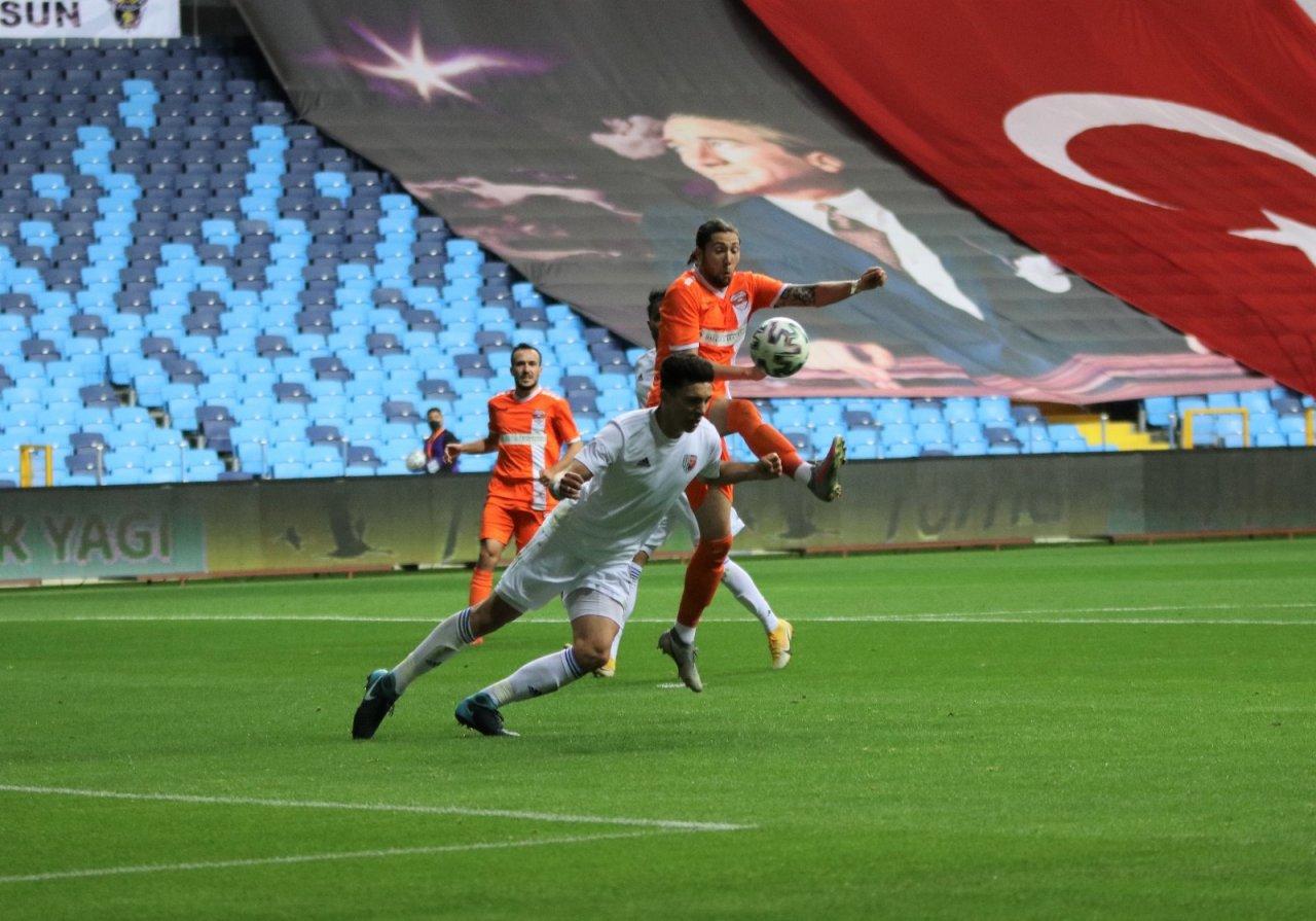 Tff 1. Lig: Adanaspor: 0 - Ankaraspor: 1